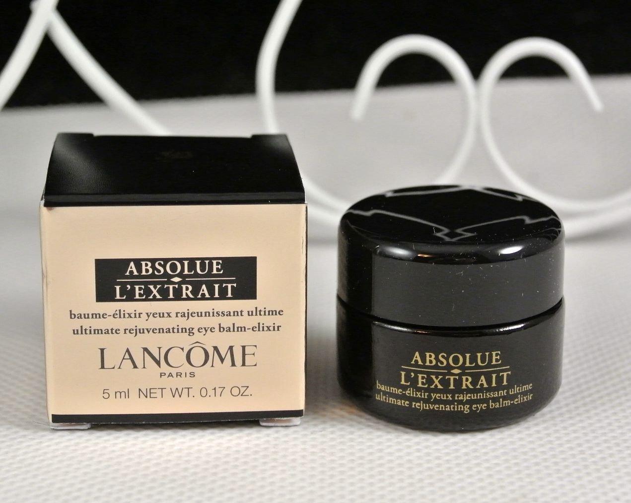 $87 Value Absolue L'Extrait Ultimate Eye Contour Rejuvenating Eye Balm-Elixir 5 ml/0.17 oz. Deluxe Travel Size