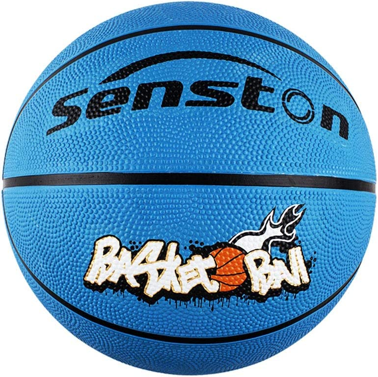 Senston Basketball Size 5 Kids Games Basket Ball Childrens Outdoor//Indoor PU Leather//Rubber Basketball with Pump