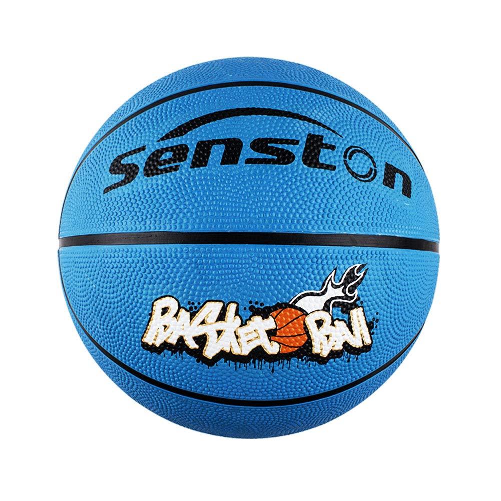 Senston Basketball Size 3//5 Kids Game Basket Ball Childrens Outdoor Basketball Rubber Basketballs with 3 Accessories//Cotton Sports Basketball Wristband