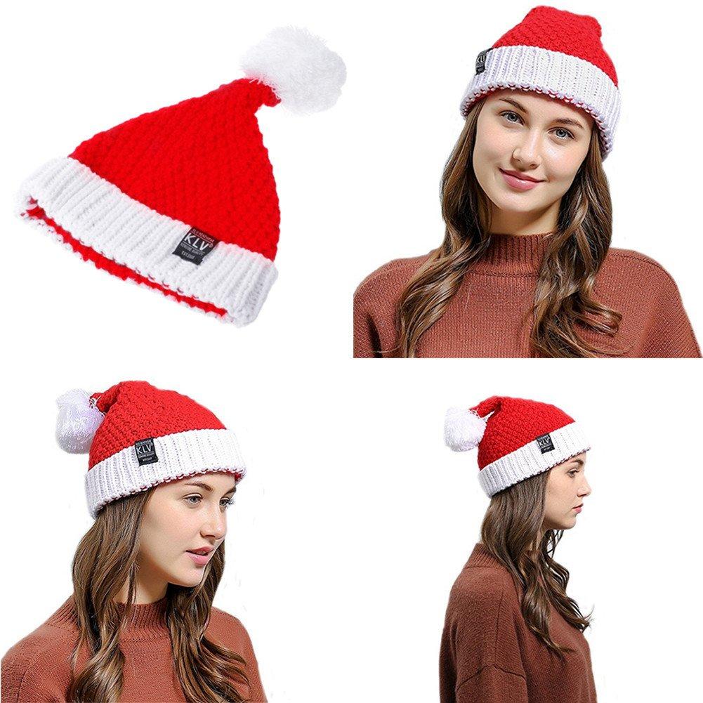 ZYCC Sombrero de Punto de Navidad Sombrero de Gorro Sombrero de ...