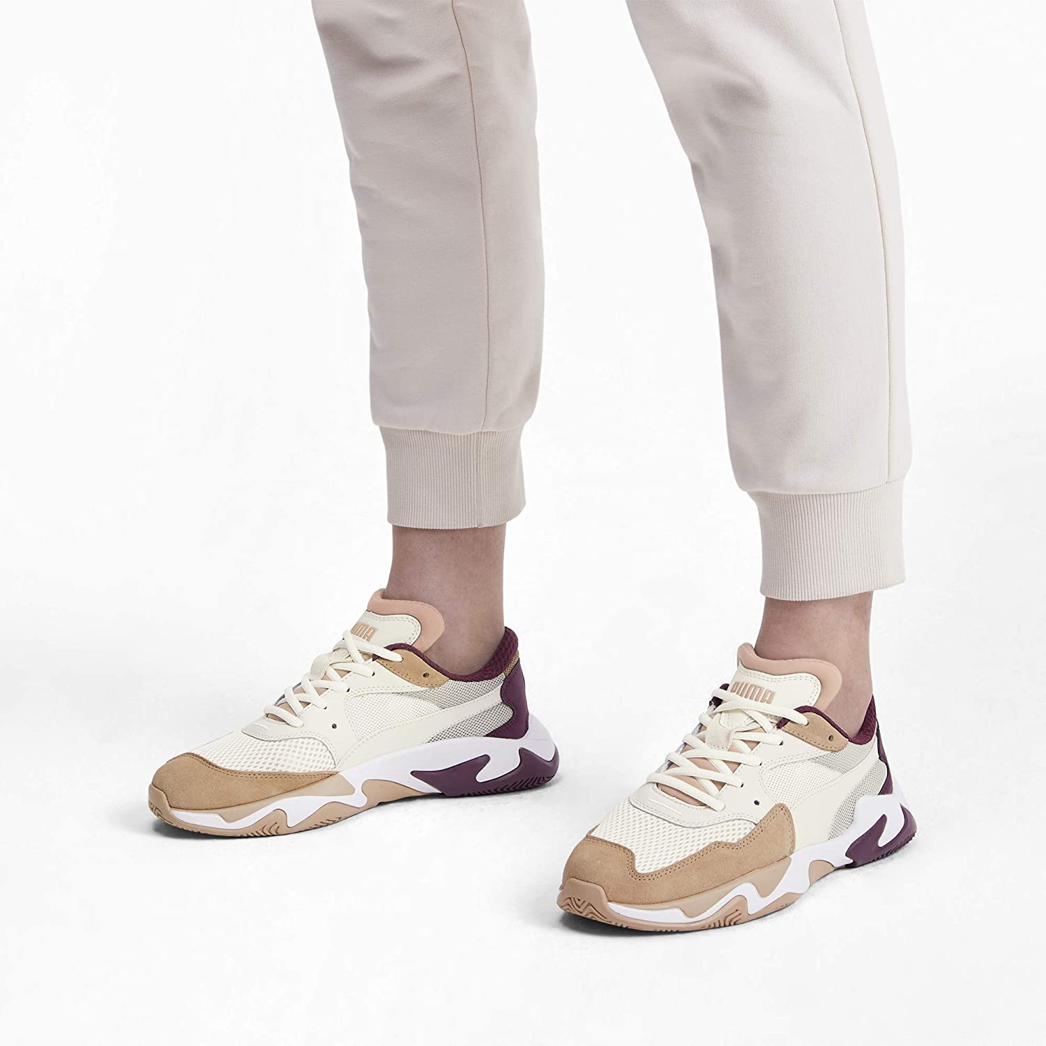 PUMA Baskets Mode 369770 Storm Origin Beige