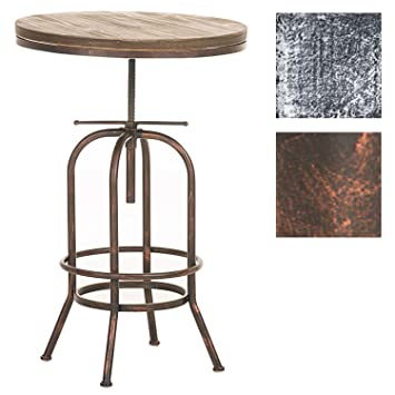 CLP Mesa BRIGHTON de diseño industrial. Combina la madera y el metal ...