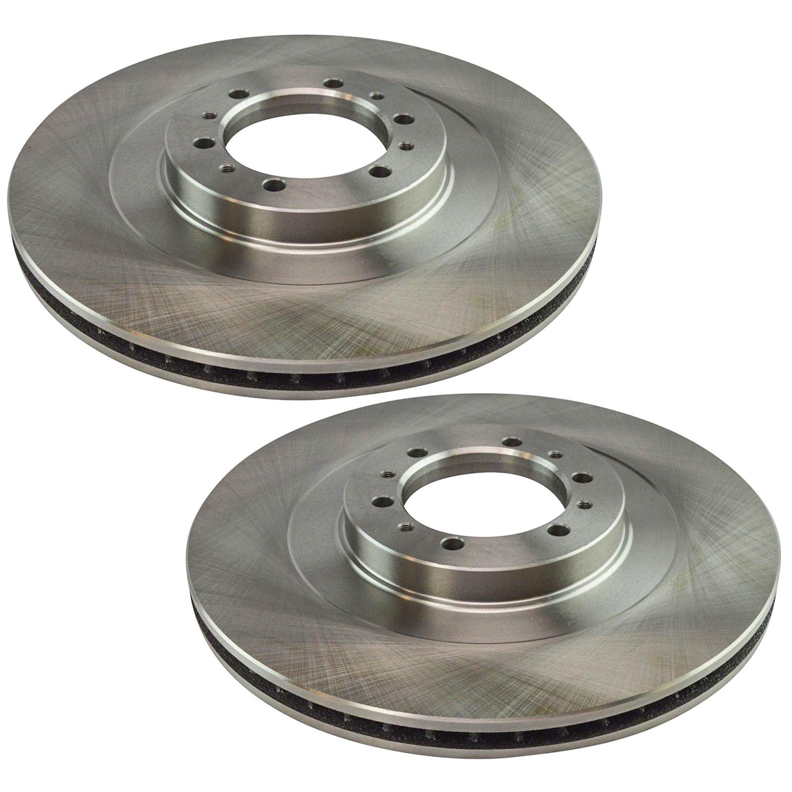 Disc Brake Rotor Front Pair for Mitsubishi Montero Sport
