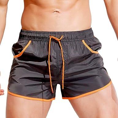 Logobeing Verano Hombre Bañadores Pantalones Cortos de Baño ...