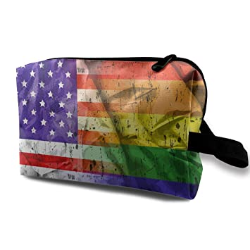 c9580415796f Amazon.com : American Flag Platinum Snowmobile Multifunction Travel ...