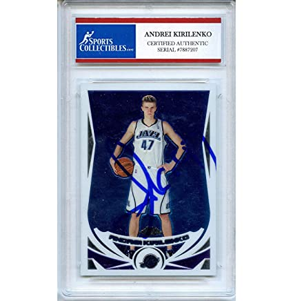 7d9e6ca78 Andrei Kirilenko Autographed Signed 2005 Topps Chrome Trading Card -  Certified Authentic