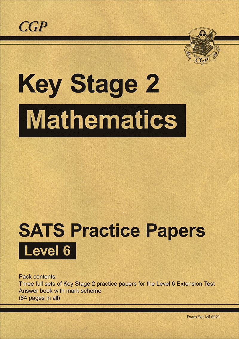 worksheet Ks3 Maths Sats Revision Worksheets ks2 maths sats practice papers level 6 for until 2015 only amazon co uk cgp books 9781847624444 books