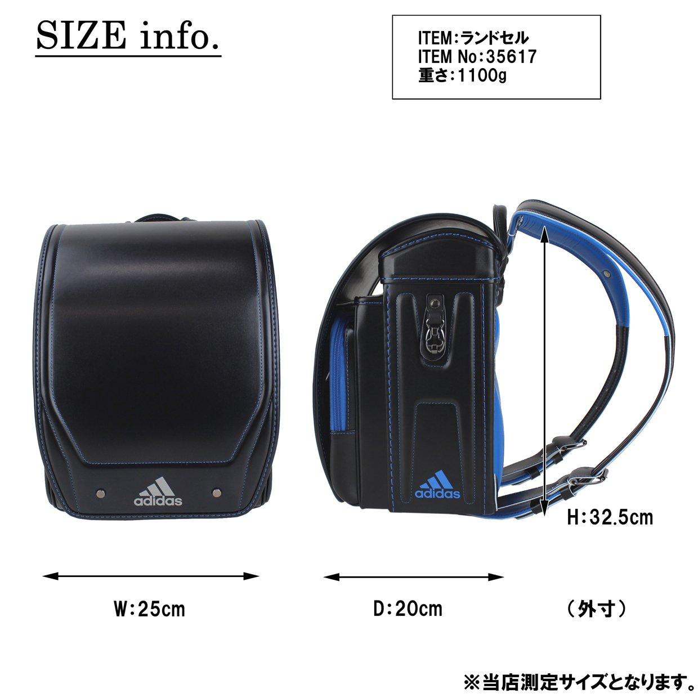 02d00f40d8b7f9 Amazon   adidas アディダス RANDOSERU ランドセル ランドセル 35617 ブラック/パワーレッド   Amazon  Fashion