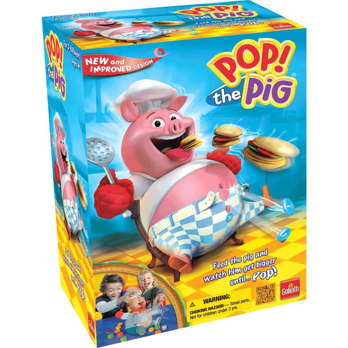 Goliath Games Gog-30546.604 LLC Pop The Pig, 30546 (6 Piece)