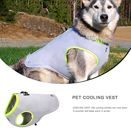 LLDHWX Pet Cooling Vest Sommerhunde Cool Coat Puppy Dress ...