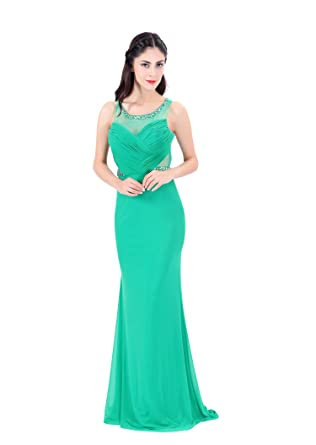 Green Prom Dresses Size 10