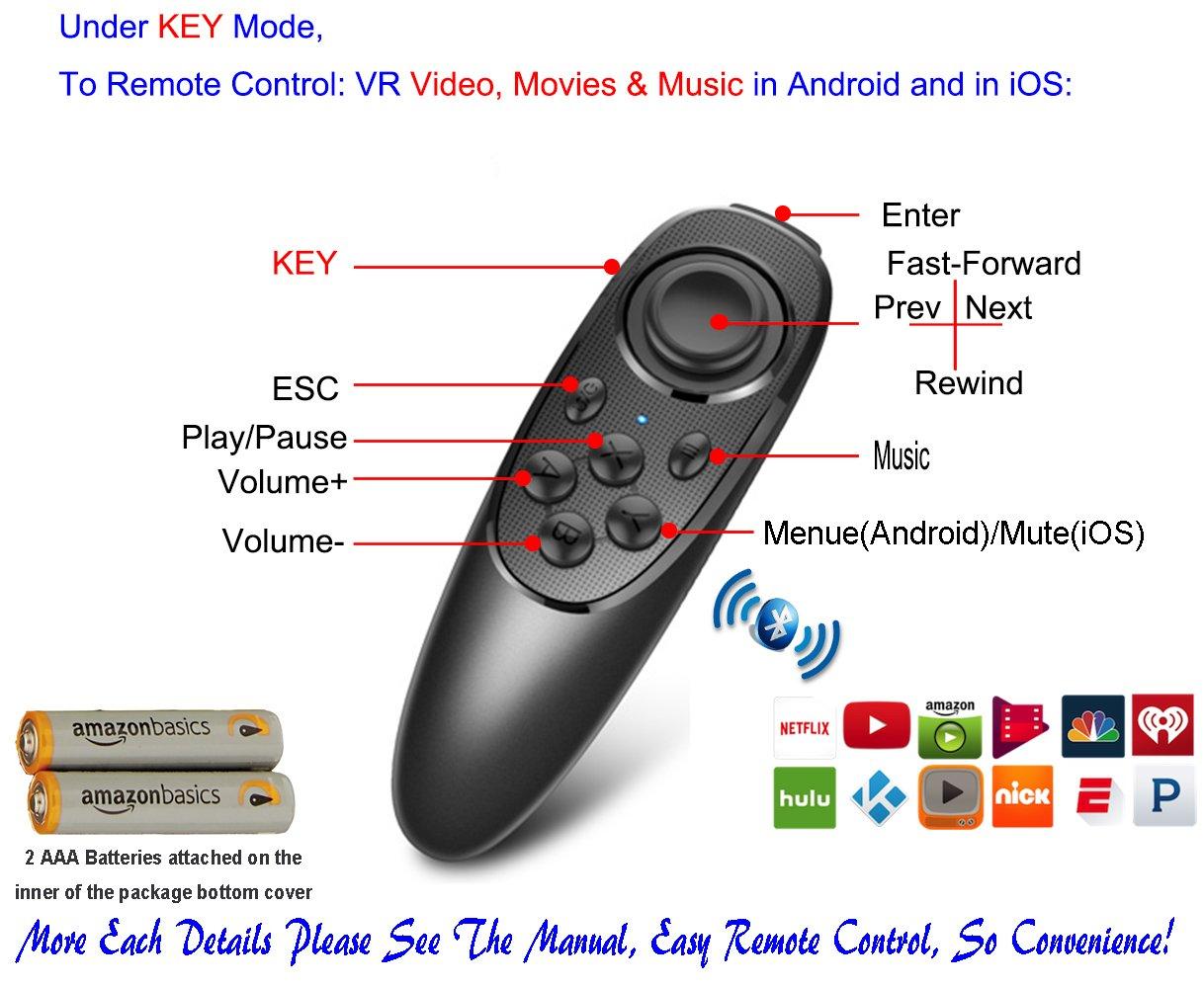 VR Remote Controller Gamepad Bluetooth Control VR