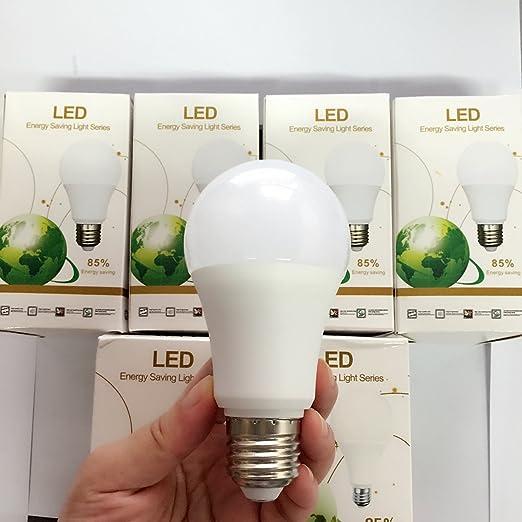 bombilla LED e27,12 W De 100 W, Luz cálida blanca, NO regulable