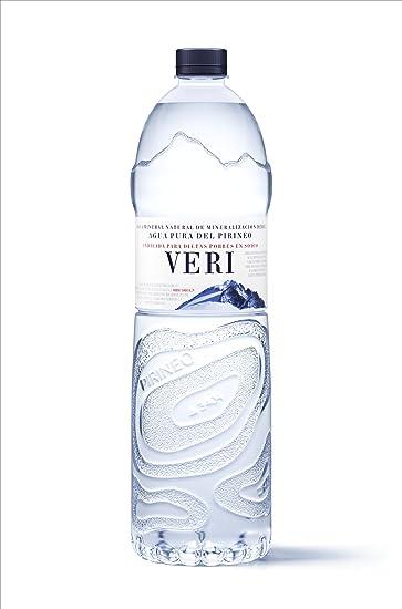 Veri Agua Mineral - Paquete de 6 x 1500 ml - Total: 9000 ml