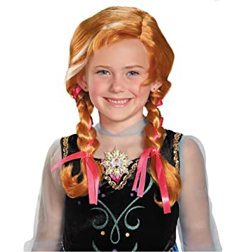 Frozen Anna Niño peluca