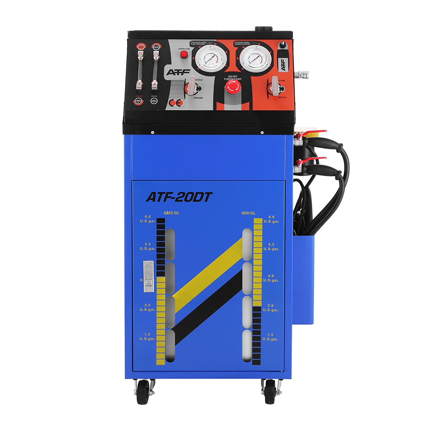 Mophorn Flush Machine DC12V 0-60PSI Automatic Transmission Fluid Exchanger Heavy Duty Transmission Flush Machine for Small Gasoline Motor Car and Diesel ...