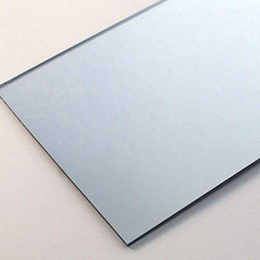 3mm Silver Acrylic Mirror Sheet 300 x 300 Perspex Plastic Safety Mirror Sheet