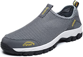 e3859bde9a10af Resonda Men Outdoor Slippers Mesh Shoes for Walking The Dogs
