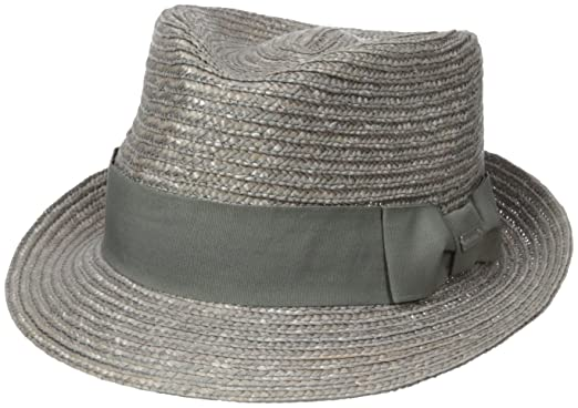 95f29dea Kangol Men's Wheat Braid Arnold Trilby Hat at Amazon Men's Clothing ...