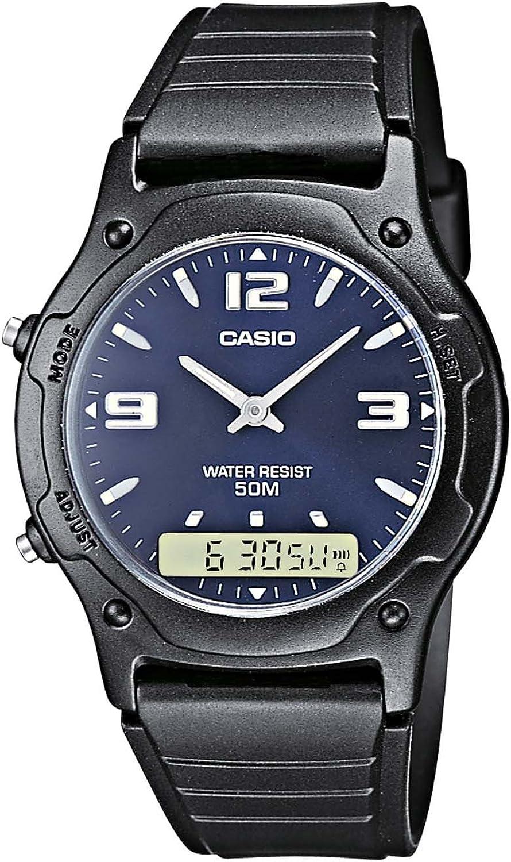 Casio Reloj de Pulsera AW-49HE-2AVEF