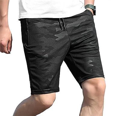 2b57f8ef28 Cheryl Bull Men Camouflage Shorts Male Board Shorts Beach Shorts Black M