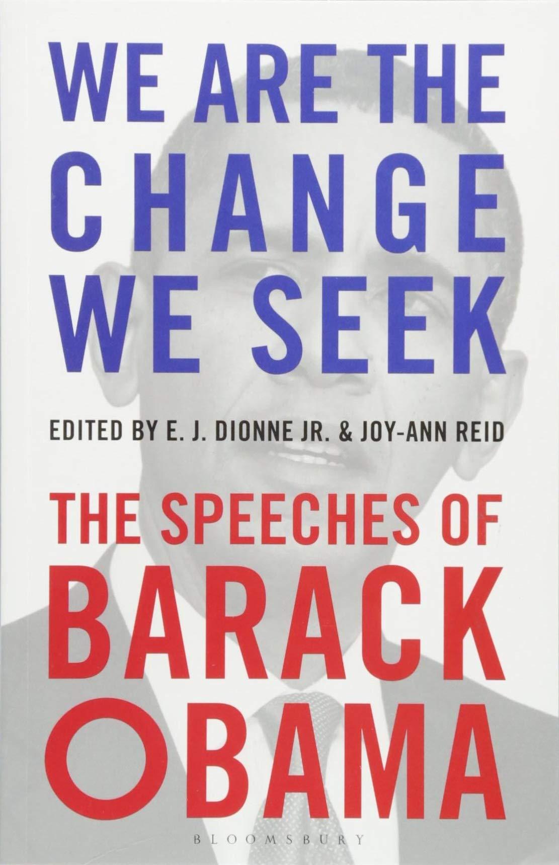 Read Online We Are the Change We Seek: The Speeches of Barack Obama pdf epub