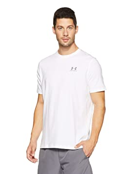 23a0c2313f Under Armour Men's Charged Cotton Left Chest Lockup T-Shirt