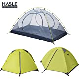 HASLE OUTFITTERS Ultralight Backpacking Tent, 2 Person 3 Season Camping Tents for Hiking Traveling Camping