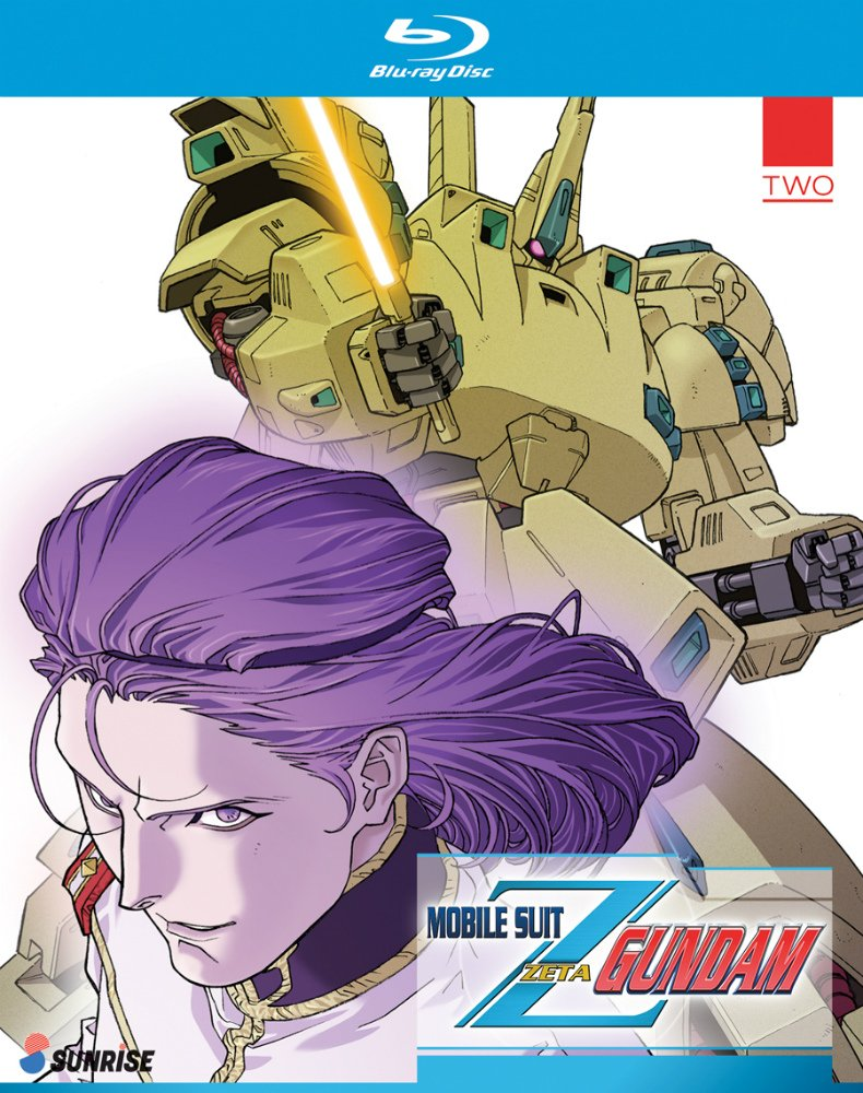 Blu-ray : Mobile Suit Zeta Gundam Part 2 Collection (3 Pack, 3 Disc)