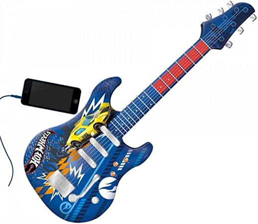 Hot Wheels - Guitarra Infantil
