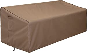 """Finnhomy Outdoor Patio Sofa Bench Seat Cover Waterproof Couch Chair Covers Fade Resistant Durable Heavy Duty Outdoor Furniture Bench Cover for Premium Protection, 78""""x 35"""" x 24""""-32"""""""
