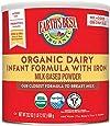 Earth's Best Organic Dairy Infant Powder Formula with Iron, Omega-3 DHA and Omega-6 ARA, 23.2 oz