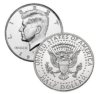 2002 P/&D President Kennedy Half Dollars Fifty Cent Coins 1-p /& 1-d