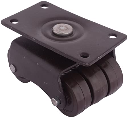 ACE Metal Wheel Caster (9 cm x 6 cm x 6 cm, Brown, Pack of 4)