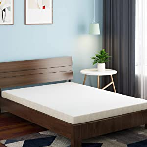 Crystli 3 Inch Memory Foam Mattress Twin Bed Mattresses with 2 Foam Layers for Optimal Softness and Support