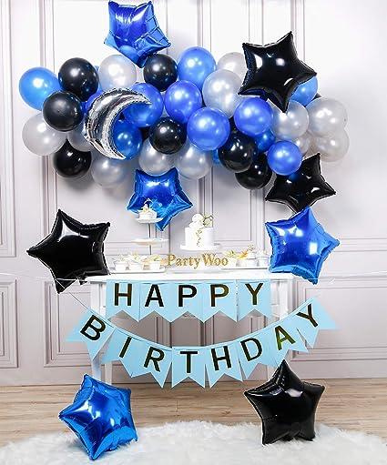 Amazon.com: LAttLiv Globos de látex de cumpleaños y globos ...