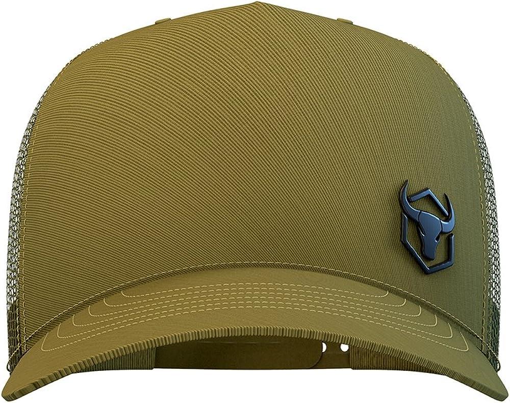 Iron Bull Strength Trucker Hat Mesh Cap with Adjustable Snapback Baseball Caps