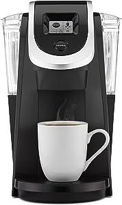 Keurig K200 Coffee Maker, Single Serve K-Cup Pod Coffee Brewer, With Strength Control, Black (Renewed)