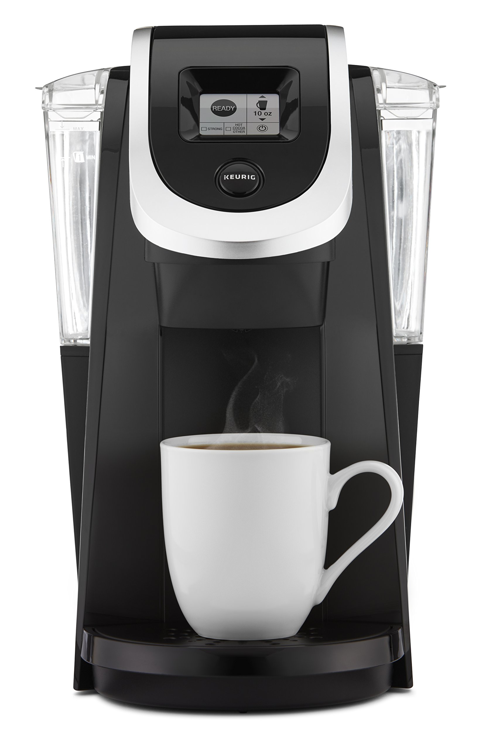 Keurig K250 Single Serve, K-Cup Pod Coffee Maker with Strength Control, Black by Keurig (Image #1)
