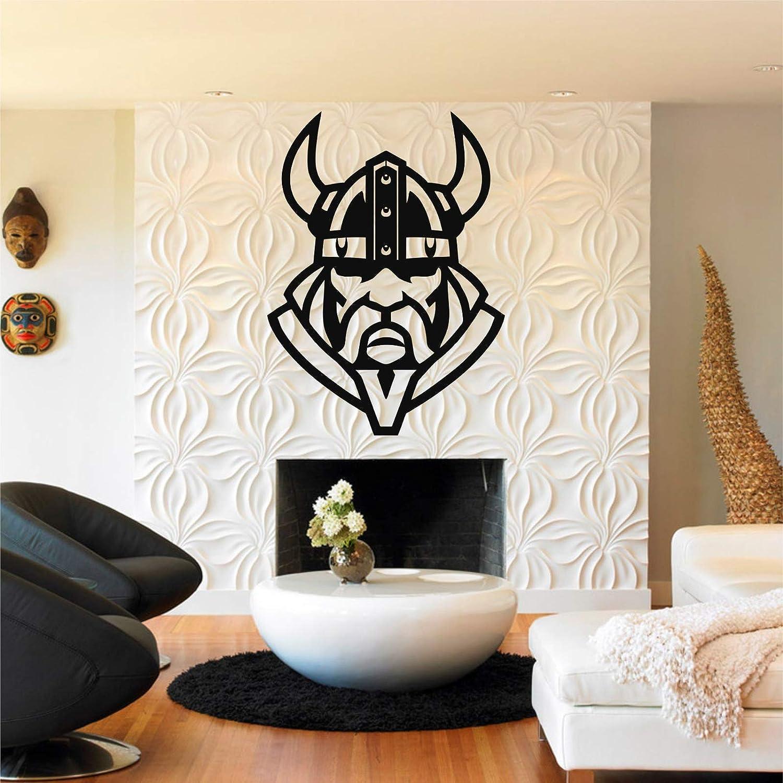 "Metal Viking Decor, Viking Silhouette, Nordic Mythology, Home Office Decoration, Norwegian Art, Metal Wall Art (17""W x 24""H / 44x60 cm)"