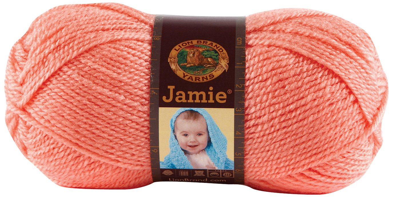 Bulk Buy: Lion Brand Jamie Yarn (3-Pack) Peachy 881-133