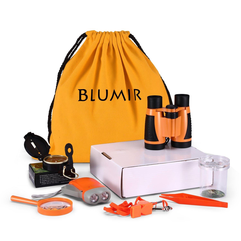 Blumir 7-in-1 Outdoor Adventure Set for kids, Kids Explorer kit, Exploration Kit