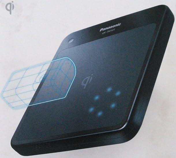 Panasonic 無接点充電パッド黒 QE-TM101-K