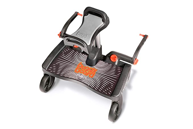 Lascal Buggy Board Maxi + Black/Grey - Plataforma para carrito