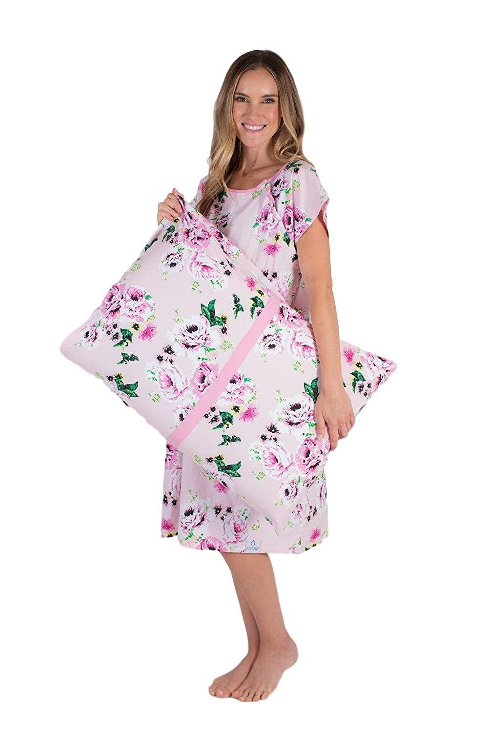 Gownies - Labor Delivery Maternity Hospital Gown Pillowcase Set ...