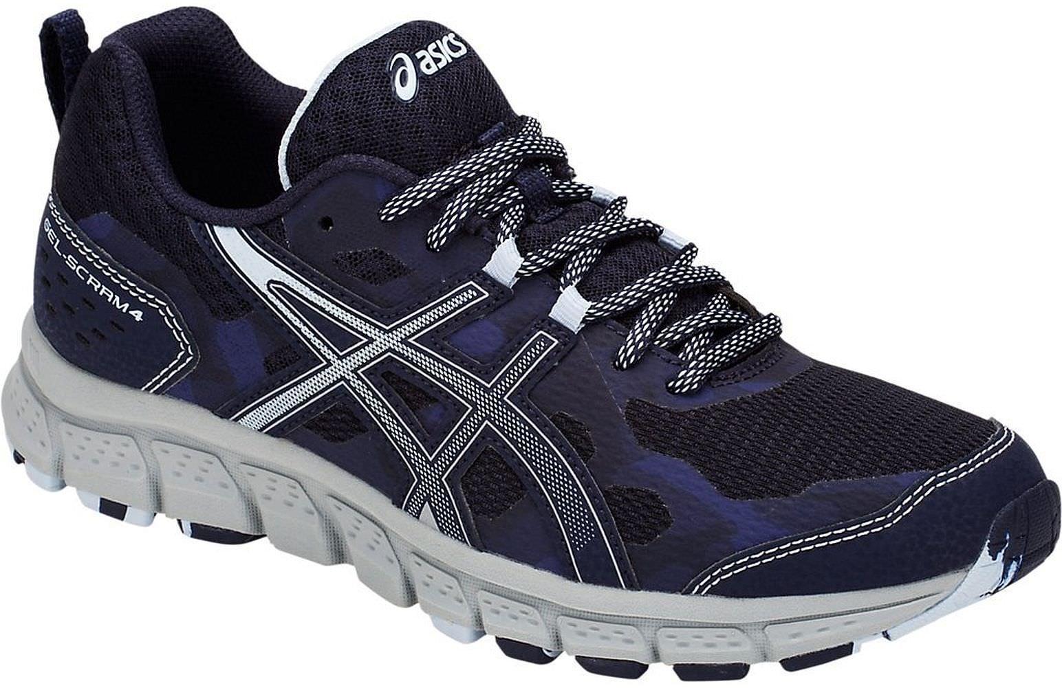 ASICS 1012A039 Women's Gel-Scram 4 Running Shoe, Peacoat/Soft Sky - 5 B(M) US by ASICS (Image #1)