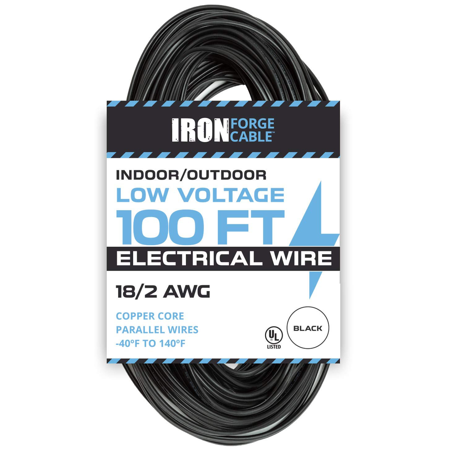 16 2 Low Voltage Landscape Wire 100ft Outdoor Cable Wiring Lights Parallel For