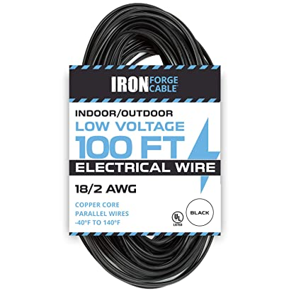 Terrific 18 2 Low Voltage Landscape Wire 100Ft Indoor Outdoor Low Voltage Wiring Cloud Hisonuggs Outletorg