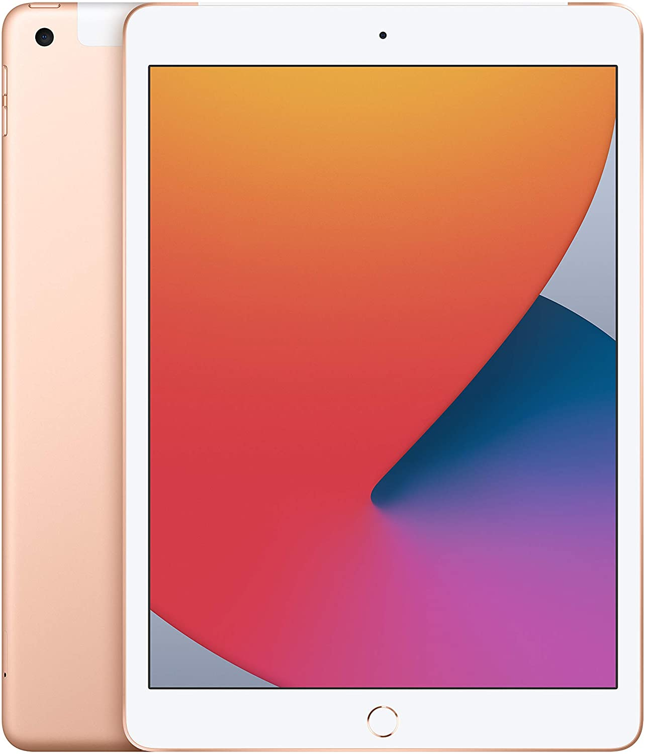 New Apple iPad (10.2-inch, Wi-Fi + Cellular, 128GB) - Gold (Latest Model, 8th Generation)
