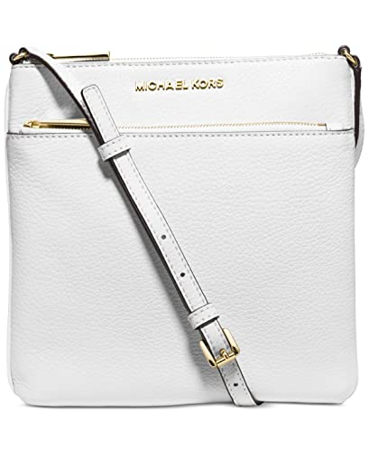 fe140771fb02 Michael Kors Riley Small Flat Crossbody Optic White  Amazon.co.uk  Shoes    Bags